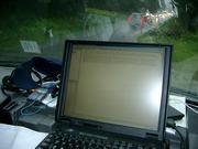 Supporter-Zeitvertreib  bei Starkregen - Pflege der Homepage - zumindest offline...