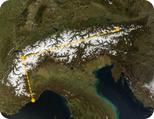 xalps-route